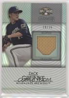 Zack Greinke [EXtoNM] #/36