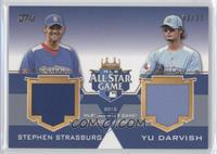 Stephen Strasburg, Yu Darvish /25