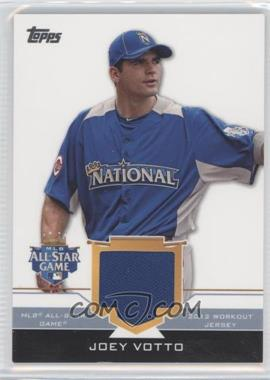 2012 Topps Update Series - All-Star Stitches #AS-JOV - Joey Votto