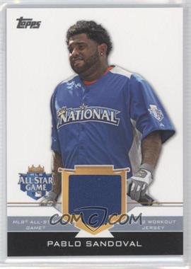 2012 Topps Update Series - All-Star Stitches #AS-PS - Pablo Sandoval