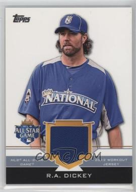 2012 Topps Update Series - All-Star Stitches #AS-RD - R.A. Dickey