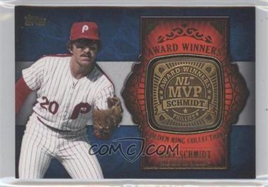 2012 Topps Update Series - Award Winners Golden Ring Collection #GAR-MS - Mike Schmidt