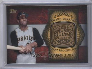 2012 Topps Update Series - Award Winners Golden Ring Collection #GAR-RC - Roberto Clemente