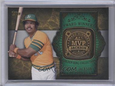 2012 Topps Update Series - Award Winners Golden Ring Collection #GAR-RJ - Reggie Jackson