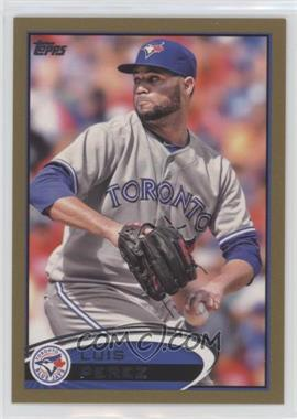 2012 Topps Update Series - [Base] - Gold #US8 - Luis Perez /2012