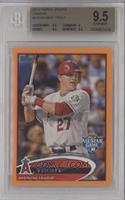 Mike Trout /210 [BGS 9.5]