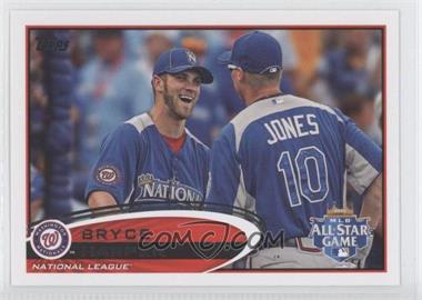 2012 Topps Update Series - [Base] #US299.3 - Bryce Harper (With All-Star Teammate)