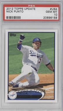 2012 Topps Update Series - [Base] #US4.2 - Nick Punto (Shortprint) [PSA 10]
