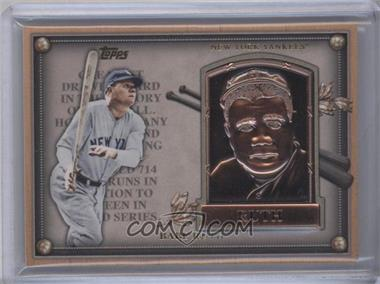 2012 Topps Update Series - Commemorative Gold Hall of Fame Plaques #HOF-BR - Babe Ruth