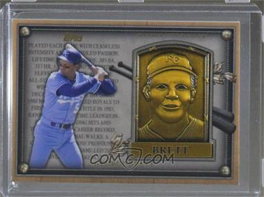 2012 Topps Update Series - Commemorative Hall of Fame Plaques #HOF-GB - George Brett