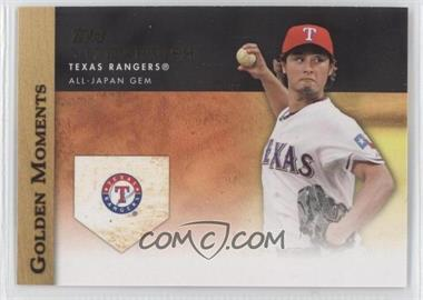 2012 Topps Update Series - Golden Moments #GM-U11 - Yu Darvish
