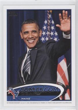2012 Topps Update Series - Presidential Predictor Barack Obama #PPO-19 - Barack Obama