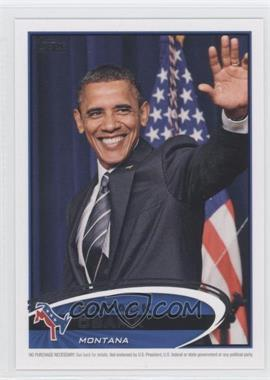 2012 Topps Update Series - Presidential Predictor Barack Obama #PPO-26 - Barack Obama