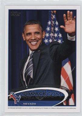 2012 Topps Update Series - Presidential Predictor Barack Obama #PPO-28 - Barack Obama