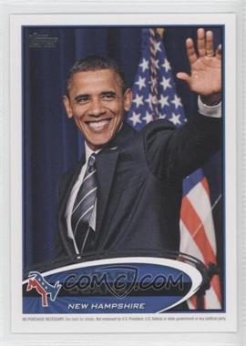2012 Topps Update Series - Presidential Predictor Barack Obama #PPO-29 - Barack Obama