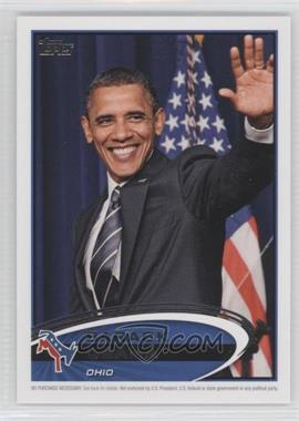 2012 Topps Update Series - Presidential Predictor Barack Obama #PPO-35 - Barack Obama