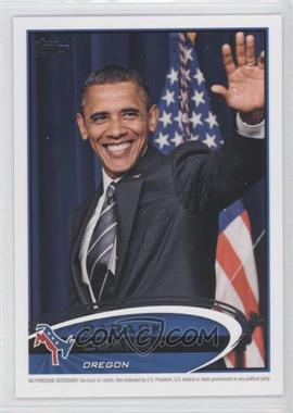 2012 Topps Update Series - Presidential Predictor Barack Obama #PPO-37 - Barack Obama