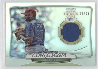 2013 Bowman - 2012 SiriusXM All-Star Futures Game Relics #FGR-AP - Ariel Pena /25