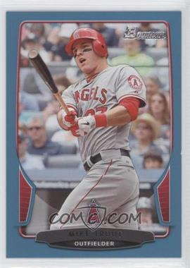 2013 Bowman - [Base] - Blue Border #121 - Mike Trout /500