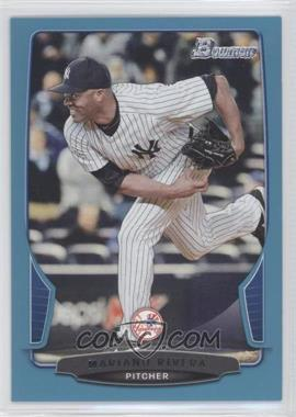 2013 Bowman - [Base] - Blue Border #141 - Mariano Rivera /500