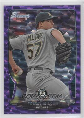 2013 Bowman - [Base] - Purple Ice #118 - Tommy Milone /10