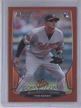 2013 Bowman - [Base] - Red #215 - Manny Machado /1