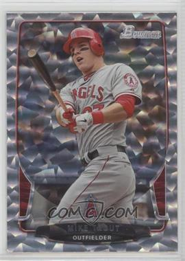 2013 Bowman - [Base] - Silver Ice #121 - Mike Trout