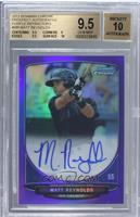 Matt Reynolds /10 [BGS 9.5 GEM MINT]