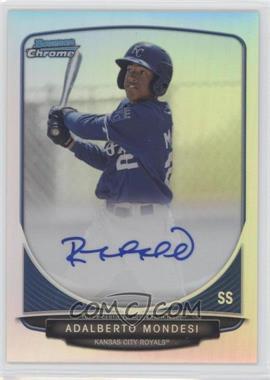 2013 Bowman - Chrome Prospects Autographs - Refractor #BCP-AMO - Adalberto Mondesi /500