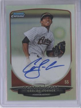 2013 Bowman - Chrome Prospects Autographs - Refractor #BCP-CC - Carlos Correa /500