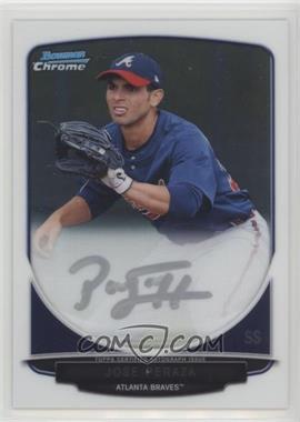 2013 Bowman - Chrome Prospects Autographs #BCA-JP - Jose Peraza