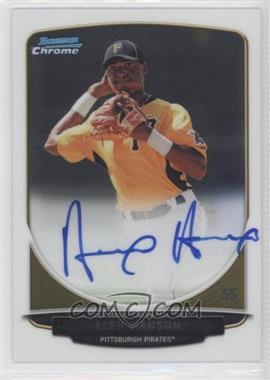 2013 Bowman - Chrome Prospects Autographs #BCP-AH - Alen Hanson