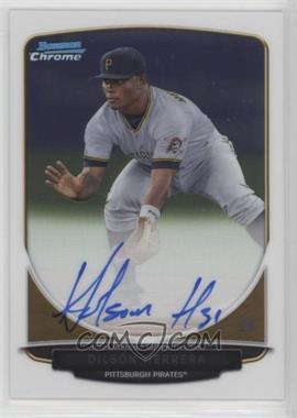 2013 Bowman - Chrome Prospects Autographs #BCP-DH - Dilson Herrera