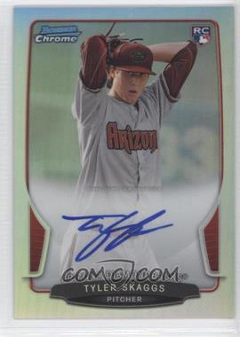 2013 Bowman - Chrome Rookie Autographs - Refractor #ACR-TS - Tyler Skaggs /500