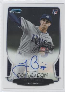 2013 Bowman - Chrome Rookie Autographs #ACR-JO - Jake Odorizzi