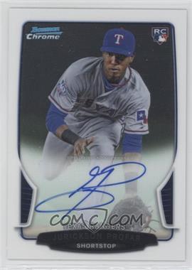 2013 Bowman - Chrome Rookie Autographs #ACR-JP - Jurickson Profar