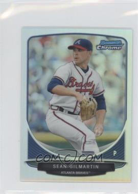 2013 Bowman - Cream of the Crop Chrome Mini Refractor #CC-AB5 - Sean Gilmartin