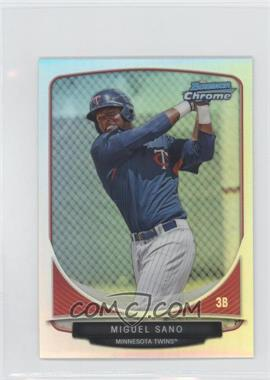 2013 Bowman - Cream of the Crop Chrome Mini Refractor #CC-MT1 - Miguel Sano