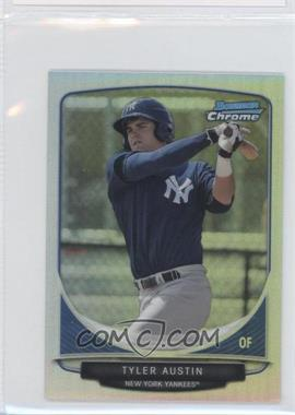2013 Bowman - Cream of the Crop Chrome Mini Refractor #CC-NYY3 - Tyler Austin