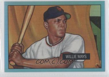 2013 Bowman - Multi-Product Insert Blue Sapphire 1st Bowman Card Reprints - Refractor #305 - Willie Mays