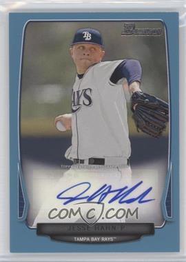 2013 Bowman - Prospect Autographs - Retail Blue #BPA-JH - Jesse Hahn /500