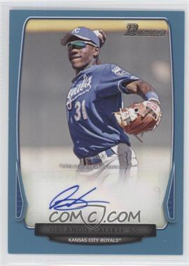 2013 Bowman - Prospect Autographs - Retail Blue #BPA-OC - Orlando Calixte /500
