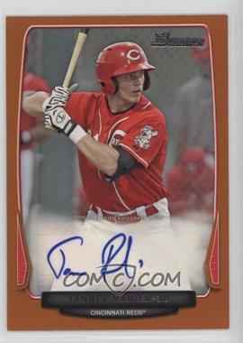 2013 Bowman - Prospect Autographs - Retail Orange #BPA-TR - Tanner Rahier /250