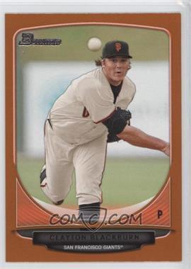 2013 Bowman - Prospects - Orange #BP98 - Clayton Blackburn /250