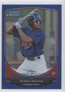 2013 Bowman - Prospects Chrome - Blue Refractor #BCP1 - Byron Buxton /250