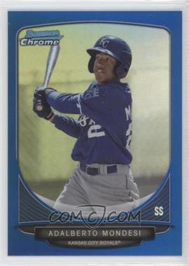 2013 Bowman - Prospects Chrome - Blue Refractor #BCP103 - Adalberto Mondesi /250