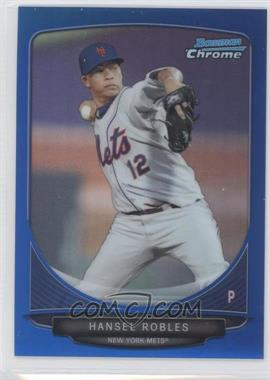 2013 Bowman - Prospects Chrome - Blue Refractor #BCP31 - Hansel Robles /250