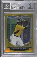 Gregory Polanco /50 [BGS 9 MINT]