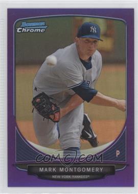 2013 Bowman - Prospects Chrome - Purple Refractor #BCP3 - Mark Montgomery /199