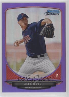 2013 Bowman - Prospects Chrome - Purple Refractor #BCP80 - Alex Meyer /199